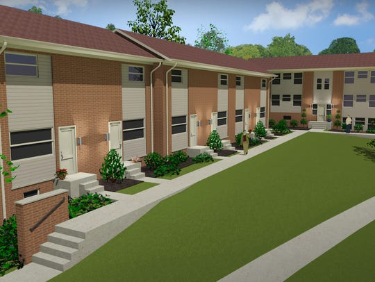 A rendering of the new Annex Student Living property