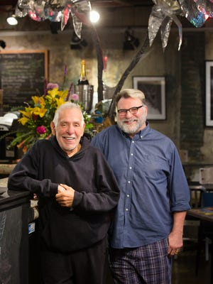 Rene Orduna, left, and Rob Gilmer of Dixie Quick's Restaurant in Council Bluffs were named Iowa Restaurateurs of the Year by the Iowa Restaurant Association.
