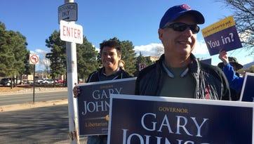 Johnson pushes Libertarians toward major-party status