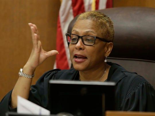 Wayne County Circuit Judge Vonda Evans sentenced Bob