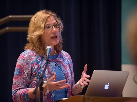 Rita Landgraf, secretary of the Delaware Department of Health and Social Services, is shown at the Cheer Center in Georgetown on June 7.