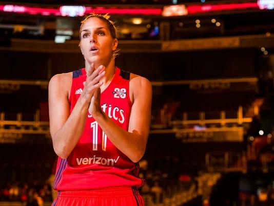 WNBA: Washington Mystics vs San Antonio Stars