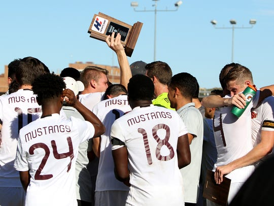 Midwestern State defeated St. Edwards 1-0 Sunday, Nov.