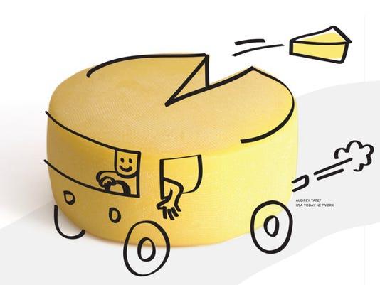 Wedge Cheese Truck