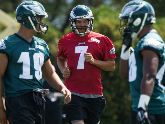 NFL: Philadelphia Eagles-Training Camp