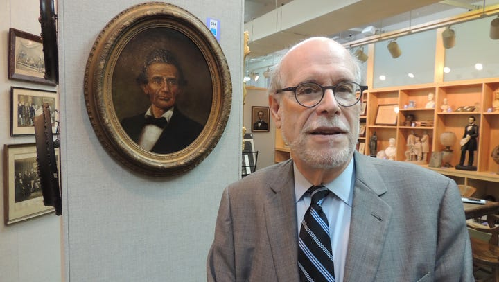 Lincoln historian's presidential collection on the block