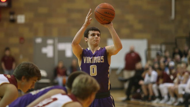 North Kitsap's Zac Olmsted and the Vikings are in position to earn first place in the Olympic League 2A and top seed into the West Central District tournament.