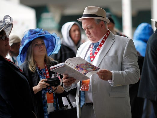 Hats and fashion at the 143rd Kentucky Derby. May 6,