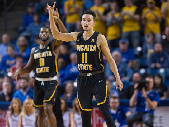 Wichita State Shockers guard Landry Shamet can play