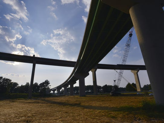 Montgomery's outer loop and I-85 interchange under