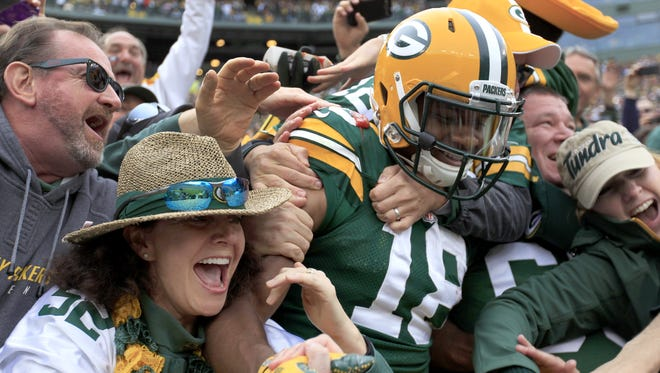 Green Bay Packers wide receiver Randall Cobb.