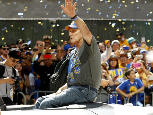 NBA: Golden State Warriors-Championship Celebration