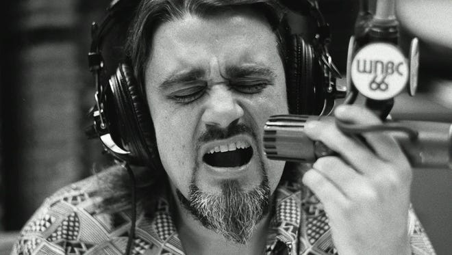 In 1973: Legendary disk jockey Wolfman Jack is shown in New York.