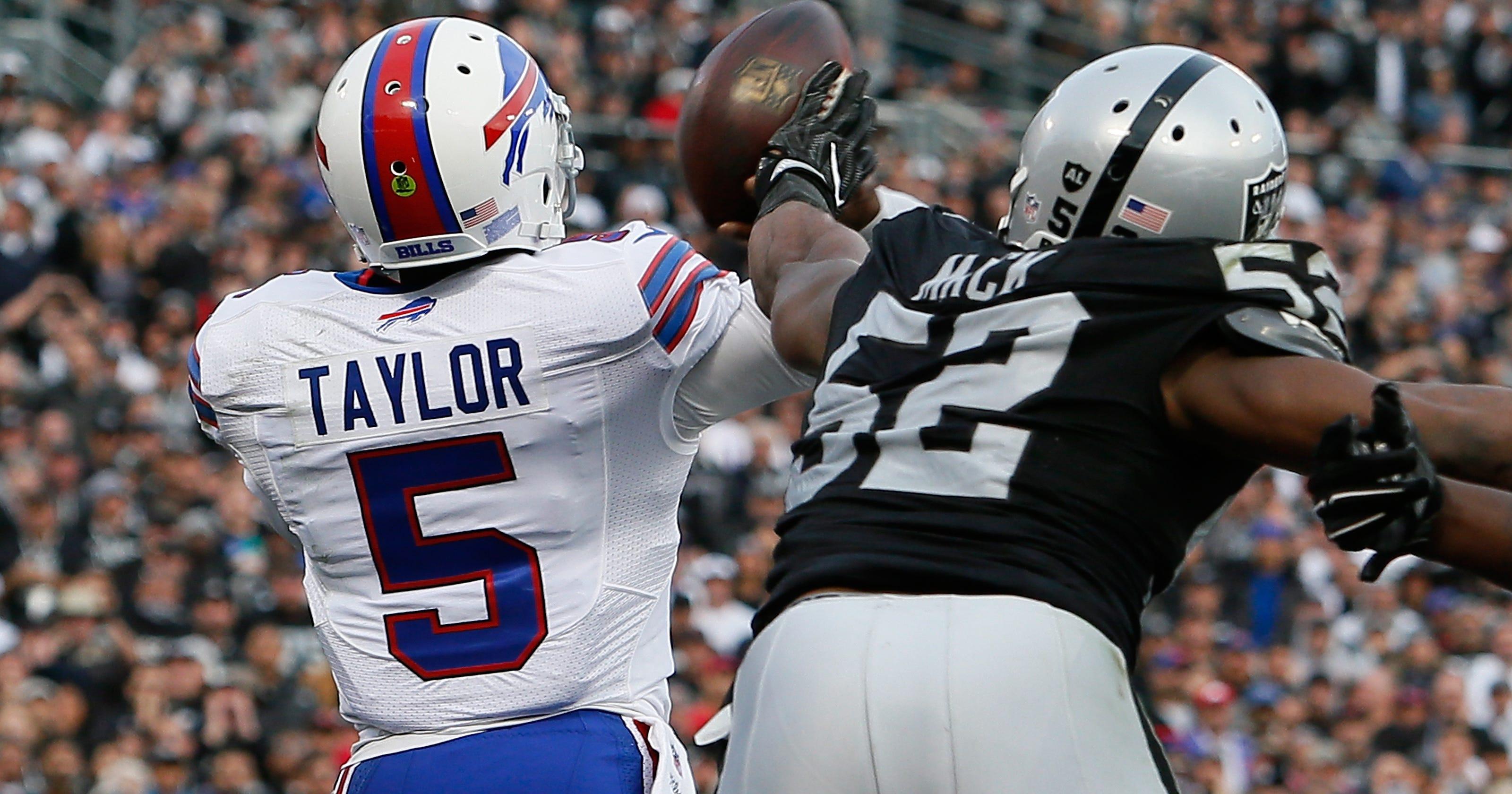buy popular 7cc77 cb9db Khalil Mack becomes NFL star and Buffalo Bills left to ...