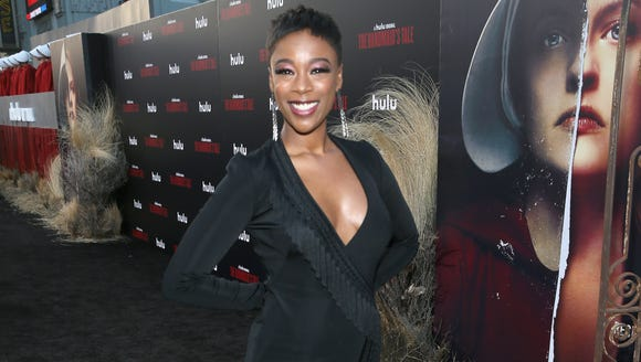 Life outside Gilead looks good on Samira Wiley, who