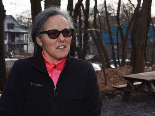 Wanda Carpello of Harrison in Westchester County, pictured at the Walkway Over the Hudson State Historic Park.