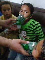 children in chlorine attacks