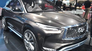 The next QX50, seen at the Detroit auto show, is key to global growth, says Infiniti exec Roland Krueger.