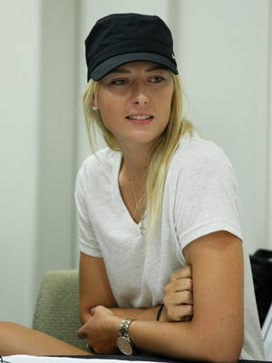 Before withdrawing, Maria Sharapova was the No. 3 seed in the U.S. Open.