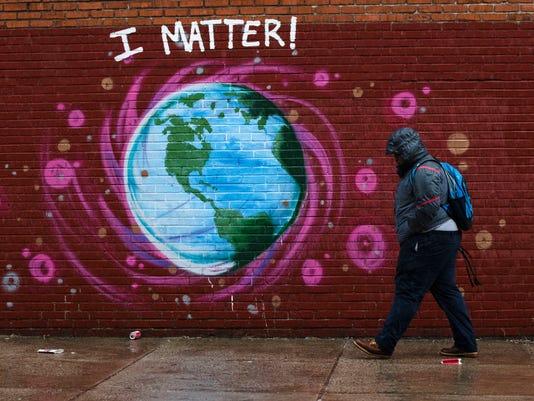 Earth Day Philadelphia mural