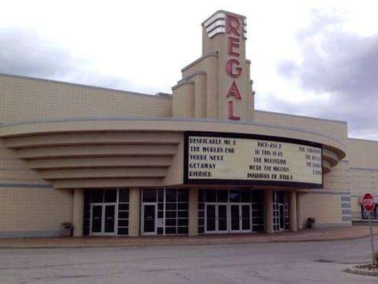 The Regal Cinema movie theater on Ridge Road in Irondequoit.