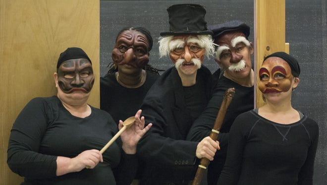 "Civic Ensemble, in collaboration with The History Center in Tompkins County, presents ""Bah Humbug! A Rhiner Commedia Carol"" this weekend."