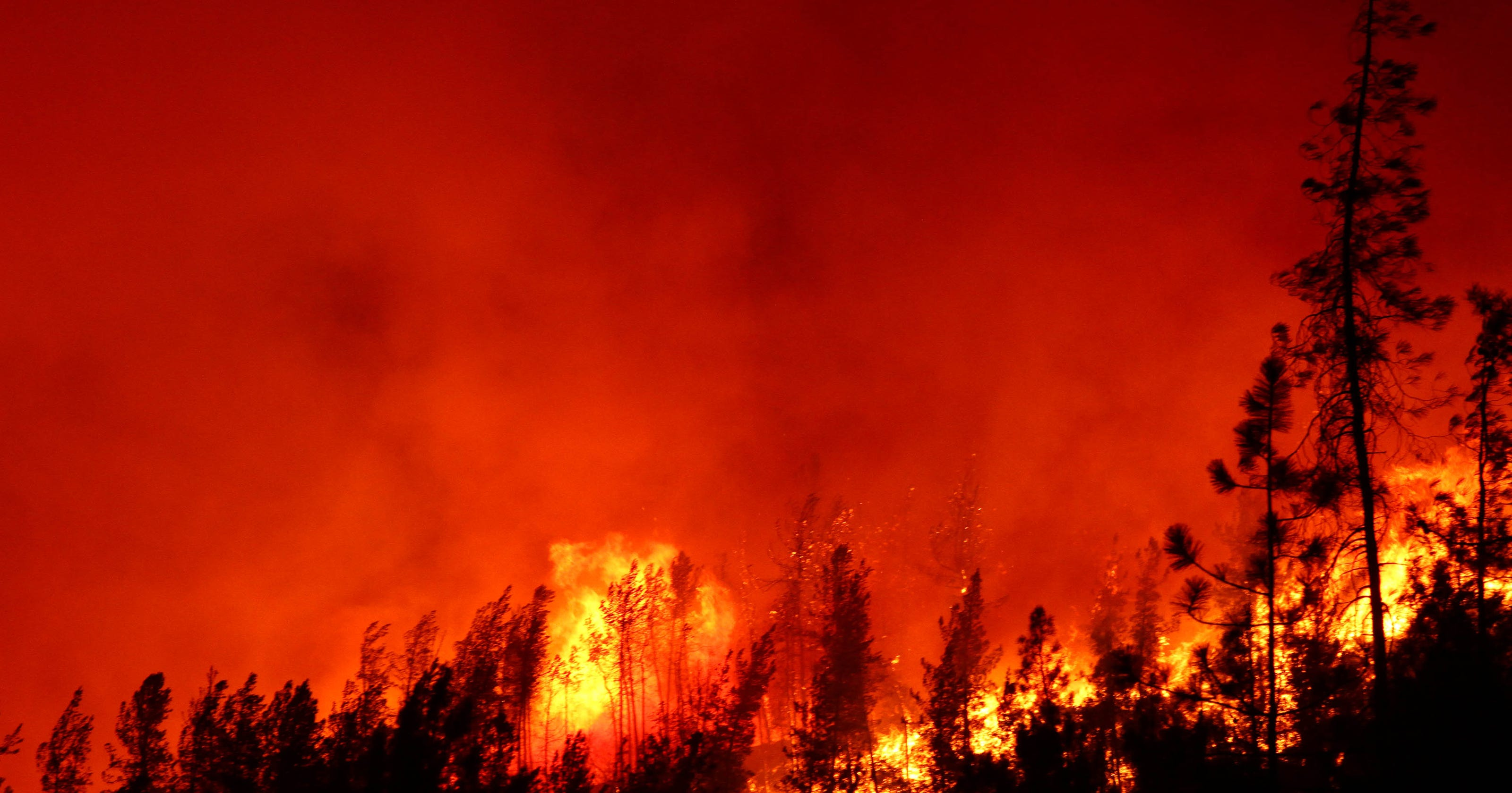 Carr Fire Forces Evacuations Throughout Redding Shasta Lake