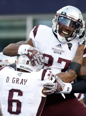 Mississippi State running back Aeris Williams is poised to be the starter in 2017.