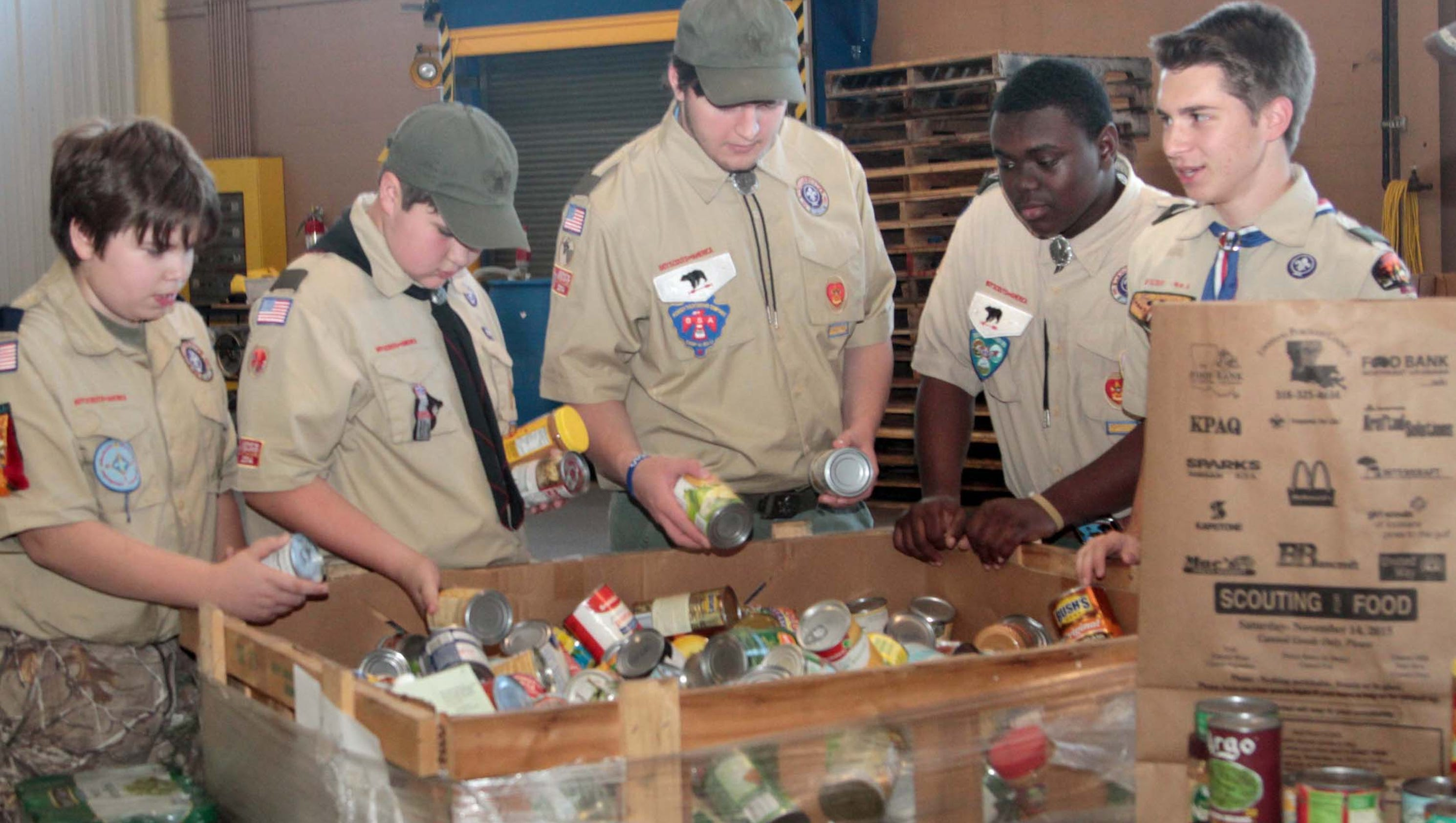 Boy Scouts Of America Food Drive