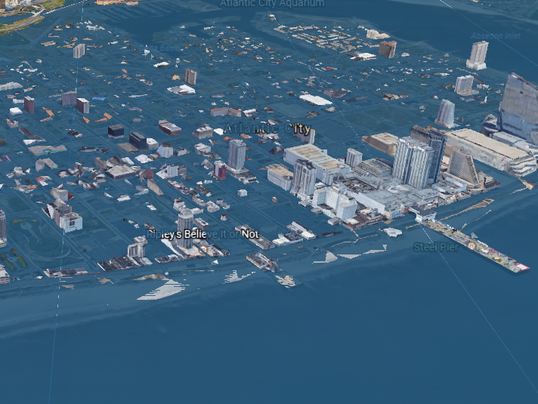 rising sea levels in new york A 5-foot rise could affect nearly 300,000 people and 30 schools will the city adapt its infrastructure in time.