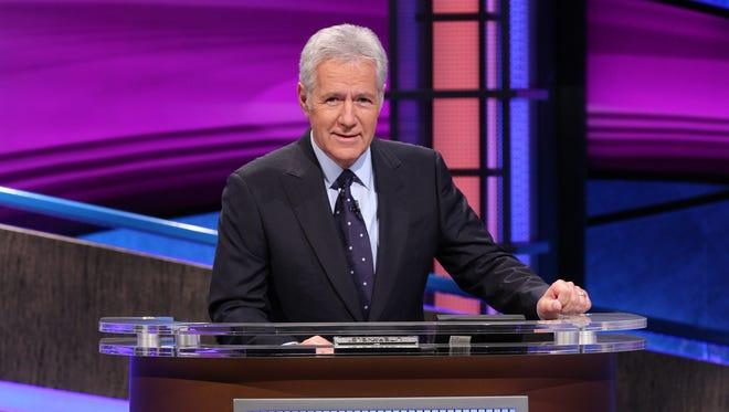 "Alex Trebek hosts ""Jeopardy!"""