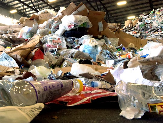 Friday, March 25, 2016--Penn Waste recycling center