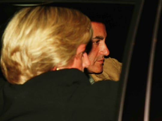 Princess Diana with Dodi Al Fayed on the night both