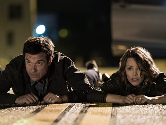 "Jason Bateman and Rachel McAdams star in ""Game Night."""