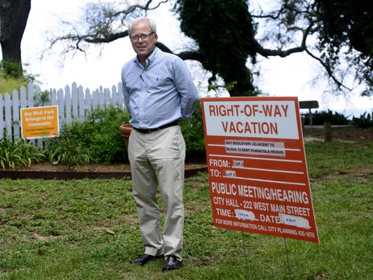 East Pensacola Heights land up for vacation
