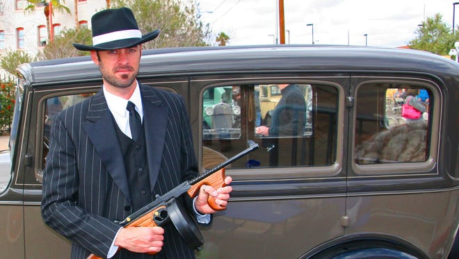 The annual Dillinger Days at the Hotel Congress includes re-enactments, music and a car show.