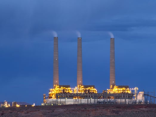 Navajo Generating Station: The plant employs about