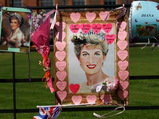 Princess Diana's death on Aug. 31, 1997 shocked the