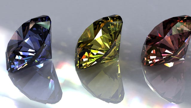 Diamonds may be a girl's best friend, but not all gems are created equal.