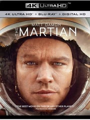 'The Martian' on 4K Ultra HD Blu-ray Disc.