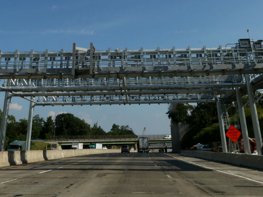 Cashless tolls in New York are expected to in place in 2020, when a toll freeze on the state Thruway also expires.