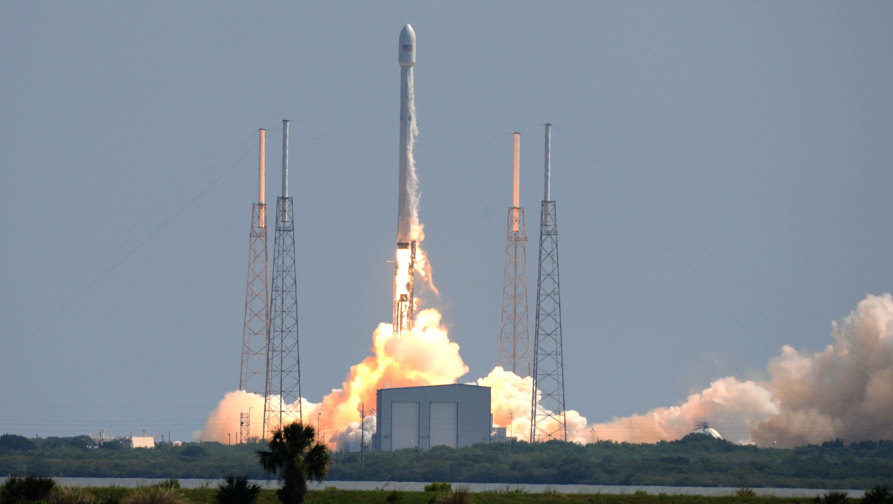 Photos: SpaceX Falcon 9 launch from Cape Canaveral with ...