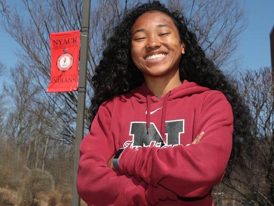 Jeriyla Kamau-Weng - Rockland Scholar Athlete of the week
