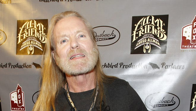 Filmmakers have shelved production on a movie about the life of Gregg Allman a week after a freight train collided into the production team and its equipment, killing one crew member and injuring seven others.