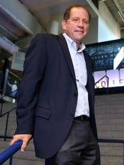 Arn Tellem, the new vice chairman of Palace Sports & Entertainment, talked about the Pistons on Thursday, Sept. 10, 2015  at the Palace of Auburn Hills offices.