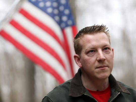 Kyle Chappell, a marine who suffered very serious injuries