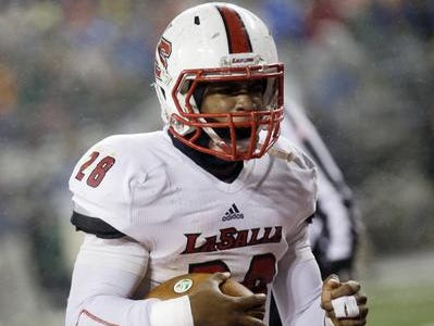 La Salle RB Jeremy Larkin is one of 10 football players in the area's 2016 class with scholarship offers.