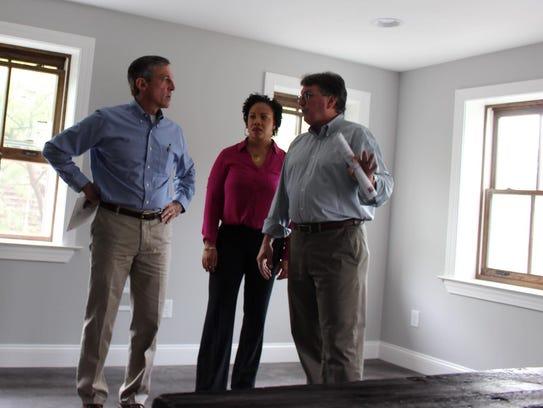 Gov. John Carney meets with Interfaith Housing's HomeWorks