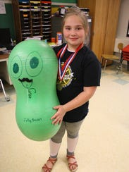 Fourth-grader Eisley Leonard, 9, is a member of Bell
