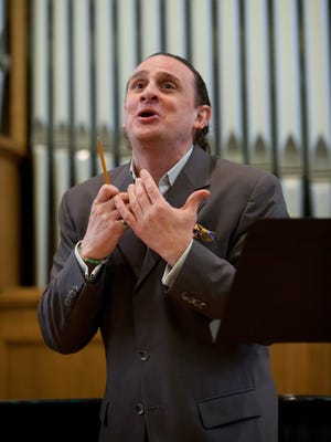 Opera tenor David Cangelosi is the artistic and program director for the Vann Vocal Institute.